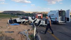 Kayseri'de iki otomobilin çarpıştığı kazada 1 kişi öldü, 9 kişi yaralandı!