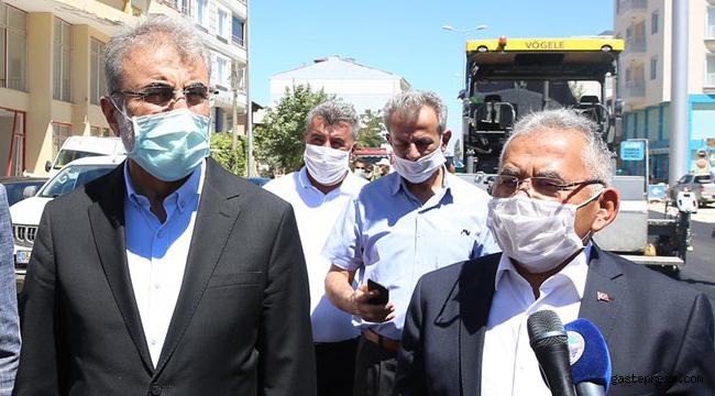 Kayseri'de Memduh Başkan ve Eski Bakan Taner Yıldız'dan Yahyalı ve Develi Çıkarması!