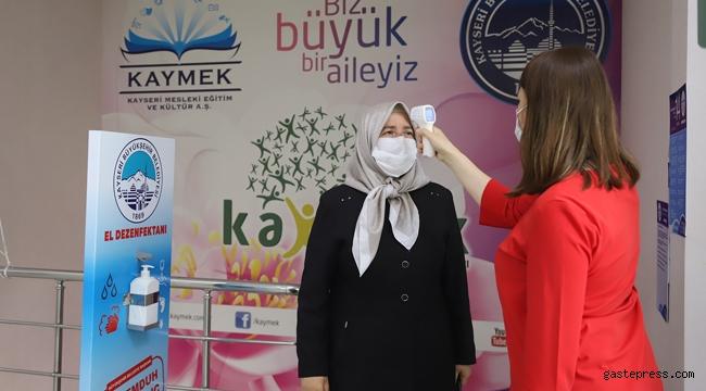 Kayseri KAYMEK'de Telafi Eğitimleri Başladı!