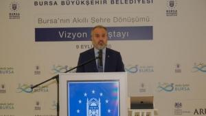 """Bursa Büyükşehir Belediyesi """"Akıllı şehircilik bir zorunluluk"""""""