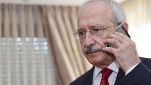CHP Genel Başkanı Kemal Kılıçdaroğlu'ndan Binali Yıldırım'a geçmiş olsun telefonu!