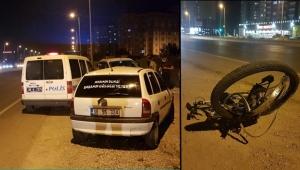 Ehliyetsiz sürücüsünün çarptığı bisikletli ağır yaralandı!