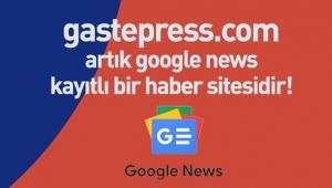 Gastepress.com Google News kaydını başarıyla gerçekleştirdi!