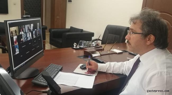 İl Sağlık Müdürü Benli, Pandemi Sürecini İlçe Sağlık Müdürleri ile Değerlendirdi!