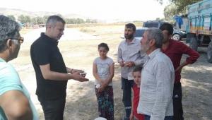 İYİ Partili Muharrem Yiğen, Çiftçinin Dertlerini Dinledi!