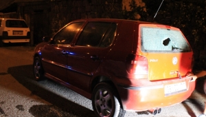 Kayınbaba damadının otomobile kurşun yağdırdı!