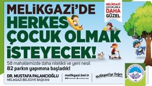 """Kayseri Melikgazi Belediye Başkanı, """"58 park diye başladık, 82'e ulaştık"""""""