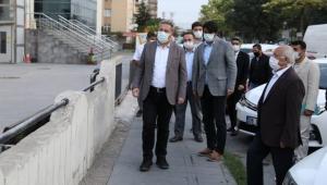 Kayseri Melikgazi'de Başkan Palancıoğlu sabah ekibi ile Hürriyet ve Yeniköy Mahallelerinde incelemelerde bulundu!