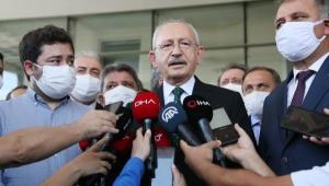 Kılıçdaroğlu'dan Başkan Böcek'e ziyaret!