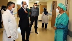 Konya'da, Başkan Altay Şehir Hastanesini Ziyaret Etti!