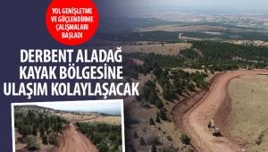Konya Derbent Aladağ Kayak Bölgesine Ulaşım Kolaylaşacak!