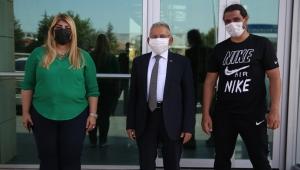 Memduh Başkan'dan Kayserispor'a Ziyaret!