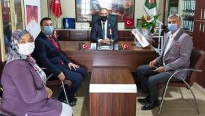 Yeniden Refah partisi Kayseri il teşkilatından anlamlı ziyaret!