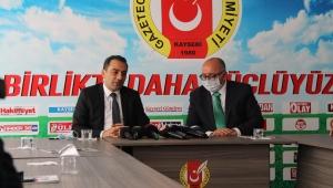 İYİ Parti Kayseri İl Başkanı Sebati Ataman, Sayın Genel Başkanımız Meral Akşener Çarşamba Günü Kayseri'de!