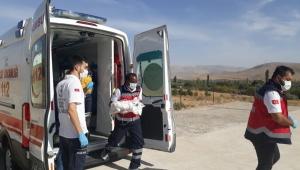 Kayseri'de yeni doğan bebek, ambulans helikopterle sevk edildi!