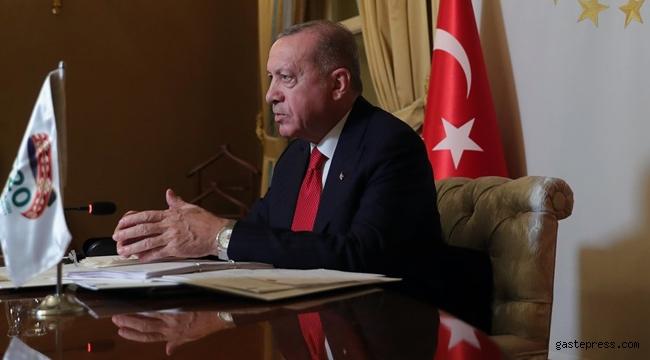 Cumhurbaşkanı Tayyip Erdoğan'dan G20 Zirvesi'nde aşı açıklaması!