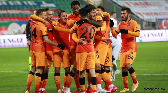 Galatasaray, Rize'de Şeytanın Bacağını Kırdı!