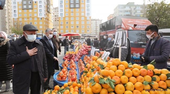Kayseri Kocasinan Belediye Başkanı Ahmet Çolakbayrakdar'dan Pazarda Koronavirüs Uyarısı!