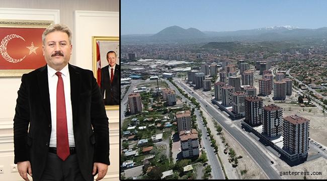 Kayseri Melikgazi'de 110 Dairenin Kura Çekimi ve Anahtar Teslimi Yapılacak!