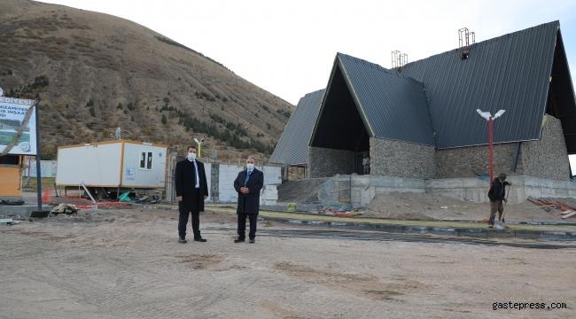 Kayseri Talas Ali Dağı Sosyal Tesisi Gün Sayıyor!