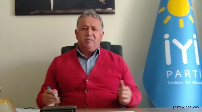 Kayseri Talas Belediyesi İYİ Parti Meclis Üyesi Mustafa Çalıksoy'dan Önemli Bir Teklif!