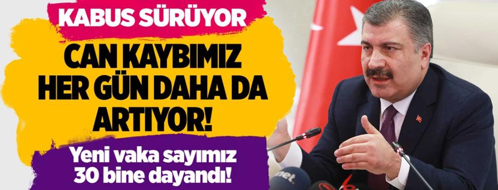Türkiye'deki corona virüsü vaka ve ölü sayısında son durum (26 Kasım 2020)