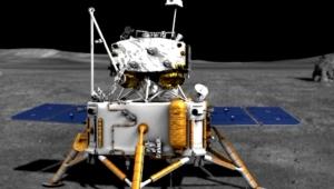 Çin'in Ay'a inen uzay aracı Chang'e 5 örnek toplama işlemini başarıyla tamamladı!