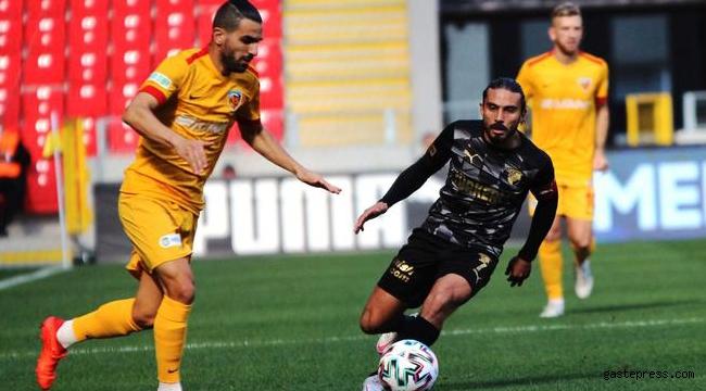 Kayserispor iyi oynadığı maçta Göztepe deplasmanından 1 puanla dönüyor!