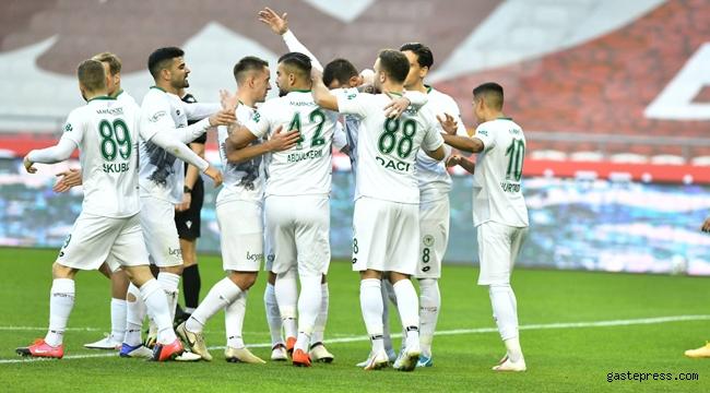 Konyaspor'dan Erzurum karşısında net galibiyet!