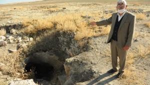 6 bin yıllık tarihi yer altı yerleşim yeri, definecilerin hedefi oldu!