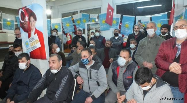 Adana'da Ak Parti'den İYİ Parti'ye İltihak!