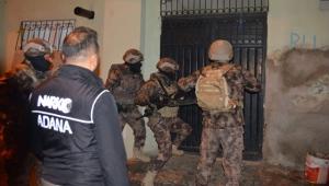 Adana'da 'torbacı' operasyonu: 18 gözaltı!