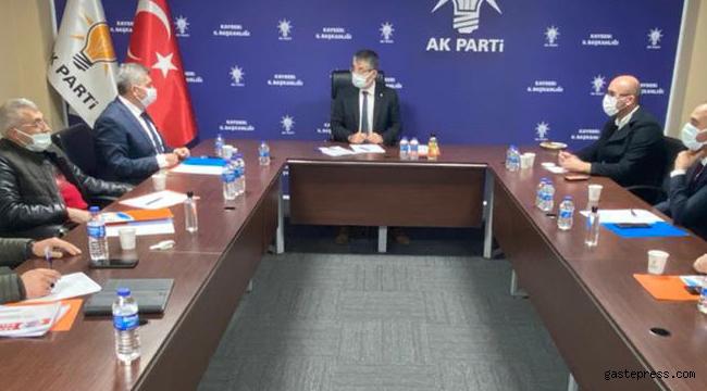 AK Parti Kayseri İl Başkanı Çopuroğlu'ndan İlçe Başkanları ve Belediye Başkanları ile İstişare Toplantısı!