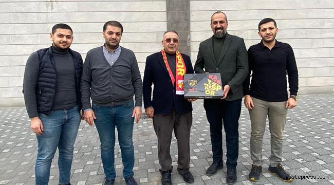 Eski Başkandan Kayserispor'a destek!