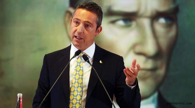 Fenerbahçe Başkanı Ali Koç Yüksek Divan Kurulu'nda konuştu!