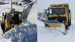 Kayseri Büyükşehir'in Kar Timi, 276 Mahalle Yolunu Ulaşıma Açtı!