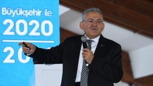 Kayseri'de 2021'de Dev Projeler ve 3 Milyar 897 Milyon Liralık Yatırım Planlandı!
