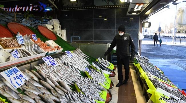 Kayseri'de kaçak avlanan turna balığı satışına 5 bin 455 TL ceza!