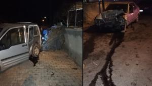 Kayseri'de trafik kazası: 3 yaralı!