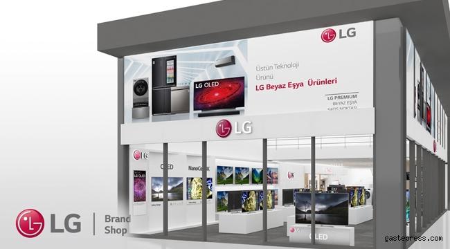 LG, Akdeniz Bölgesi'nin En Büyük LG Mağazasını Antalya'da Açtı!