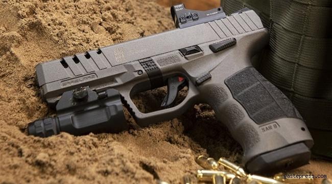 Türkiye'nin yerli tabancası SAR 9X ABD'de