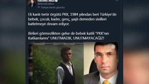 Altun: PKK'nın katliamlarını unutmadık, unutmayacağız!