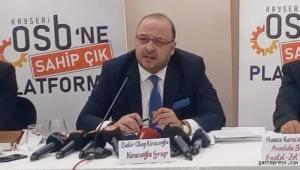 Bekir Kiracıoğlu, Kayserililerin ve Sanayicilerin Regaip Kandilini Kutladı!