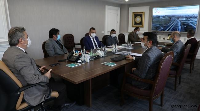 Kayseri Melikgazi'de 2021 Yılı Yol Projeleri Toplantısı Yapıldı!