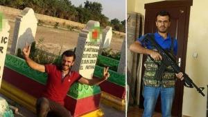 PKK'lı teröristlerin mezarlığında fotoğrafı çıktı, terör bağlantısı inceleniyor!