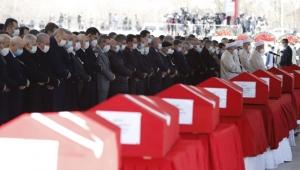 11 şehidimiz için Ankara'da devlet töreni düzenlendi!