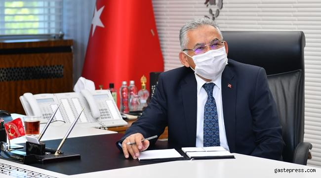 Kayseri Büyükşehir, Kontrollü Normallemede Her Alanda Çalışmalarını Yoğunlaştırıldı!