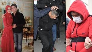 Kayseri'de eski eşini öldüren 'kırmızı ayakkabılı' şüpheli adliyeye sevk edildi!