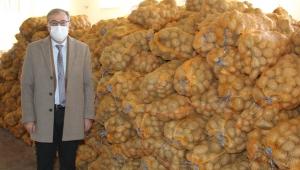Kayseri Hacılar Belediyesi'nden İhtiyaç Sahiplerine 50 Ton Patates!