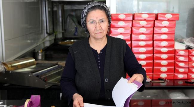 Kayseri'deki Kadın girişimci tek başına başladığı işte 15 kişiye istihdam sağlıyor!